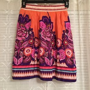Anthropologie Edmé & Esyllte | Silk Skirt | Size6